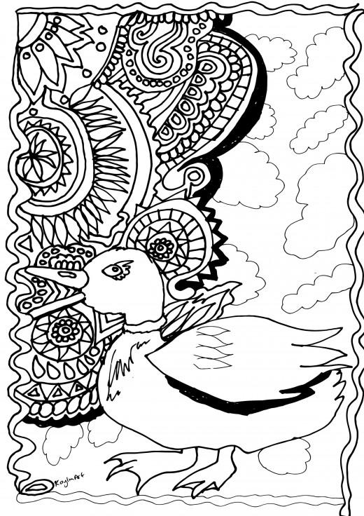 A Mandala Menagerie: 10 Free Printable Adult Coloring