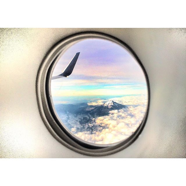 """""""my #officeview > yours  #flightattendantlife #mthood"""" Photo taken by @flywithmeghan on Instagram, pinned via the InstaPin iOS App! http://www.instapinapp.com (07/16/2015)"""