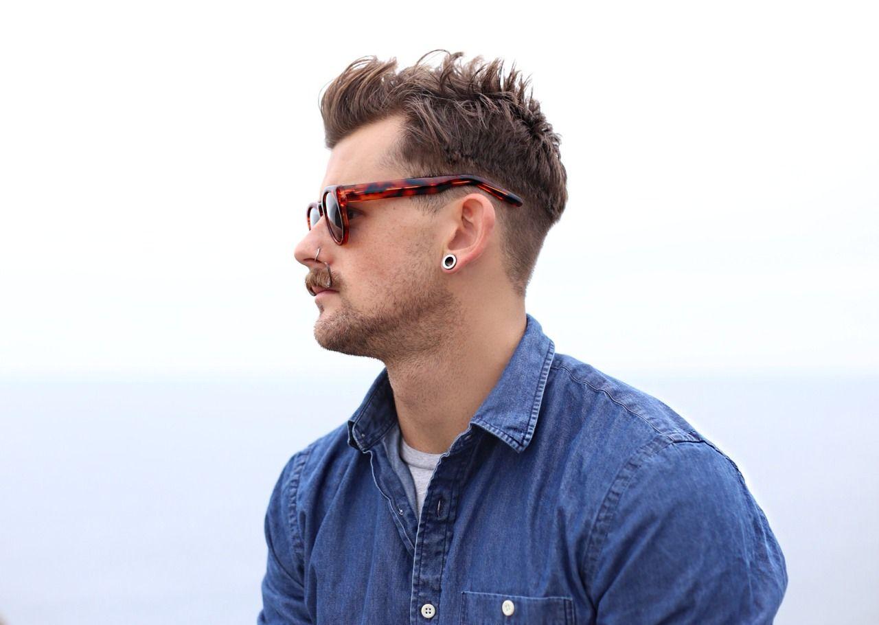 #hair #hairstyle #haircut #style #barbershop #barber #guy #male #beard