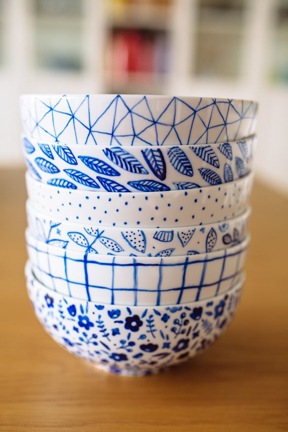 15 Ways to Paint Porcelain   Diy painting, Pottery ...