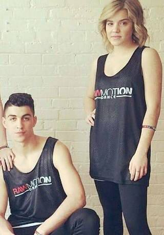 Tns James And Riley Step Tv Couple Dancing Athletic Tank Tops