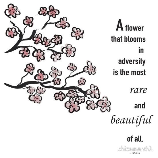 Mulan Quote Cherry Blossom By Chicamarsh1 Mulan Mulan Quotes Cherry Blossom