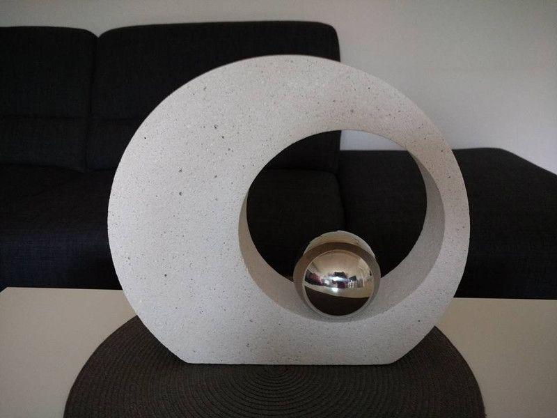 beton giessform elegant und stylisch 40 cm stylisch dawanda und beton deko. Black Bedroom Furniture Sets. Home Design Ideas