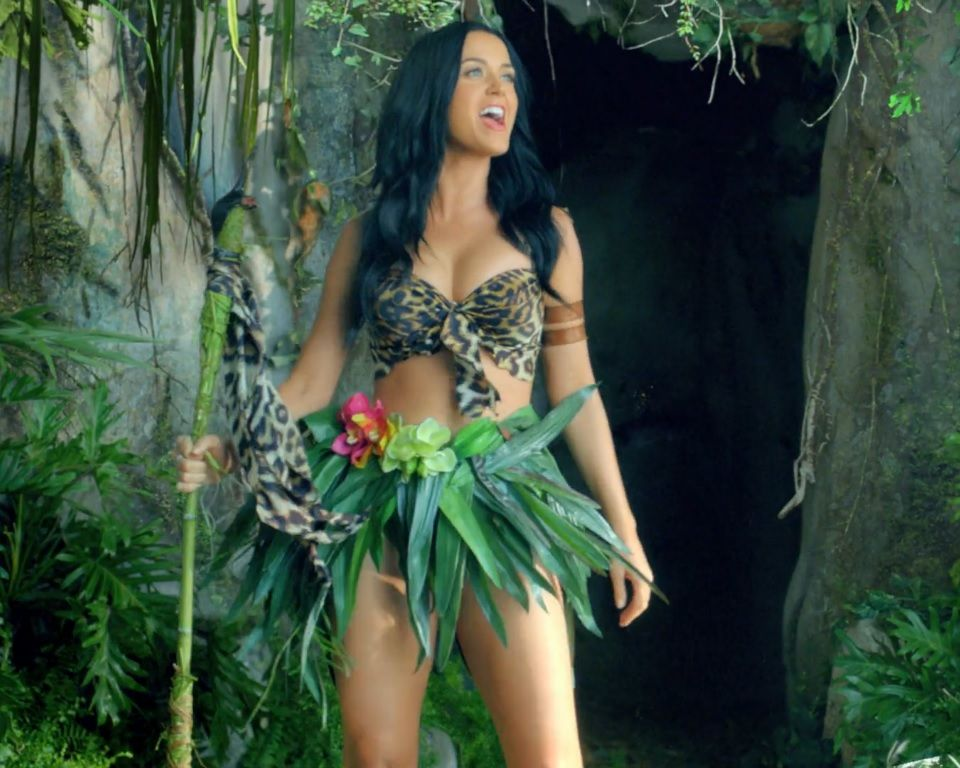 Katy Perry - Roar - music video | costumes | Pinterest