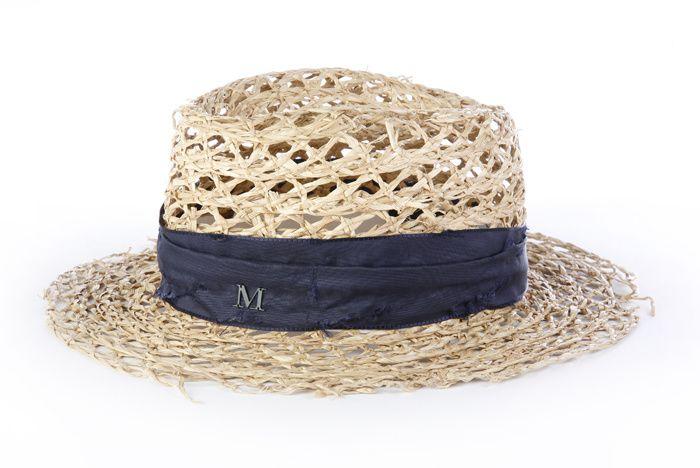 53176ee9e4a00 sombrero de paja de Maison Michel