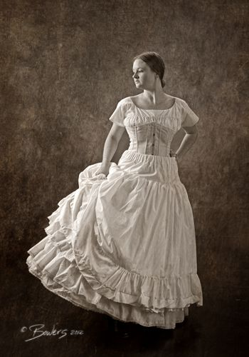 A Civil War lady's underpinnings