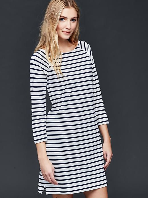 fe1de6f534 Sailor Stripe Shift Dress