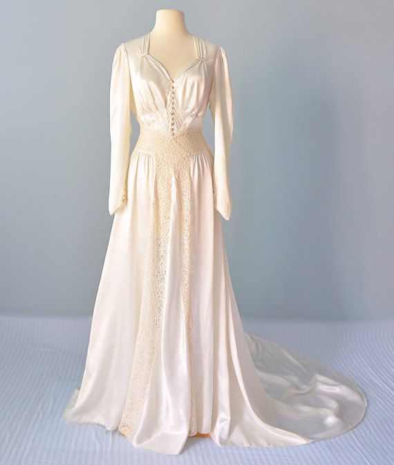 Pin by Sarah CMFL on Vintage Wedding Gowns | Pinterest | 1930s ...