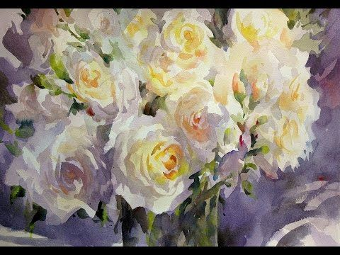 Watercolour Masterclass Trevor Waugh Youtube Flower Painting