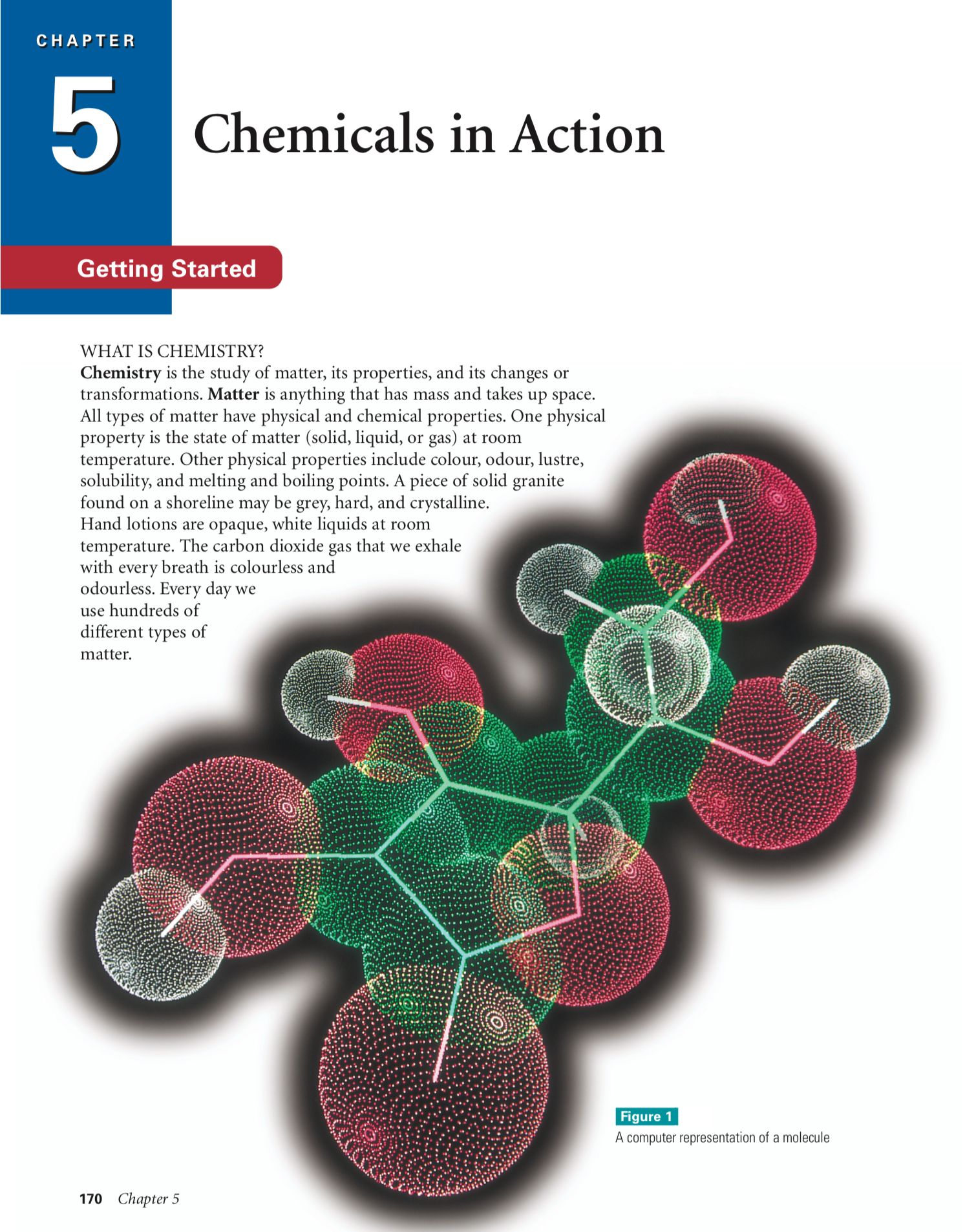 Classification Of Matter Chemical And Physical Properties