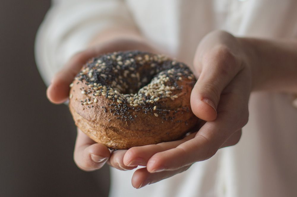 New York Bagels - On a Hunt for Smiles on the Metro. | Modern Pop Cooking