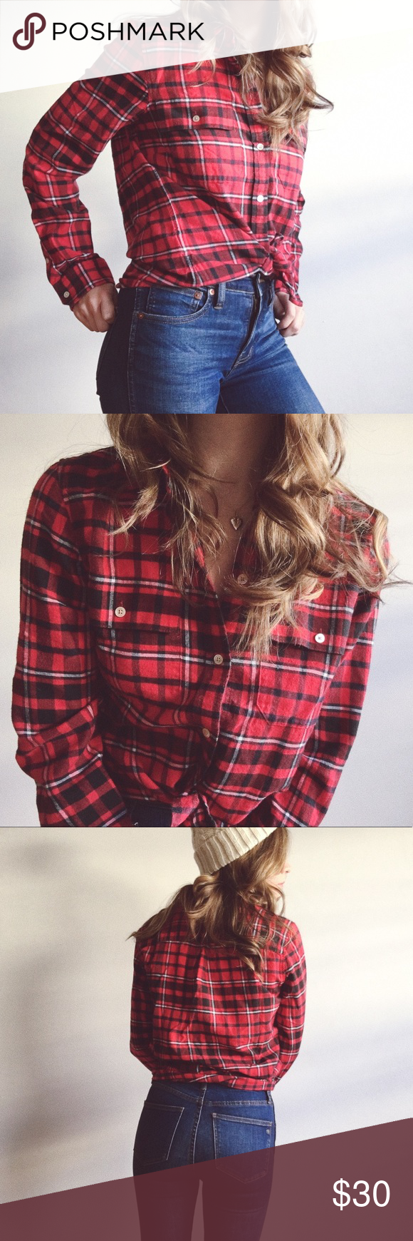 Red flannel fabric  Lightweight Plaid Flannel  Pinterest  Tartan Flannels and White plaid