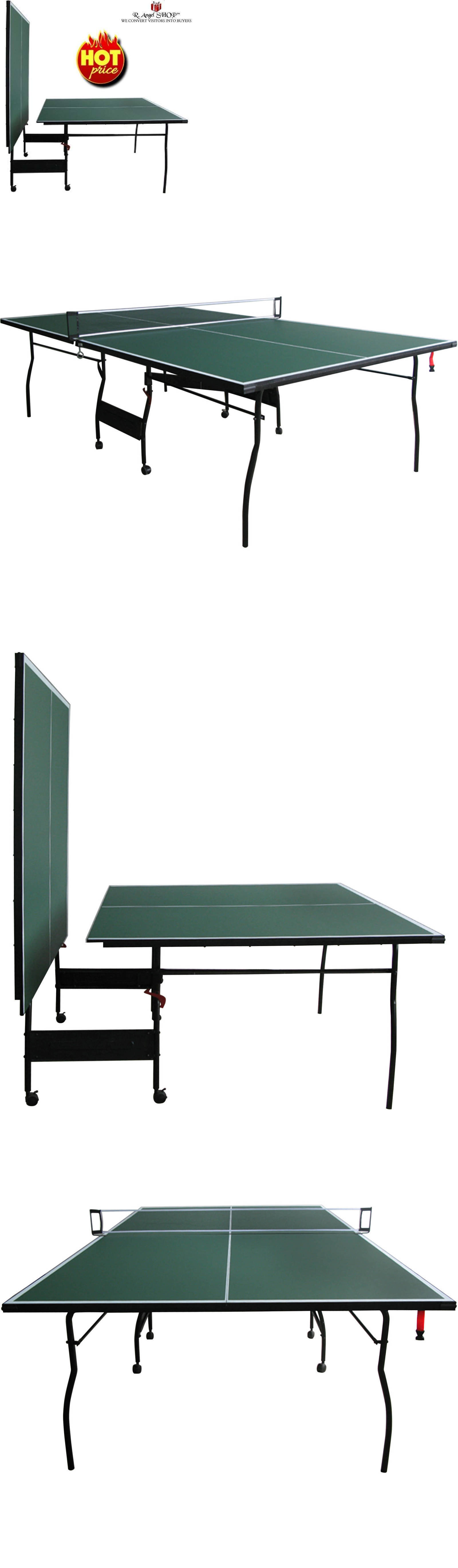 Tables 97075: Ping Pong Table Tennis Indoor Outdoor Sports Folding Portable With Net Set -> BUY IT NOW ONLY: $251.9 on eBay!