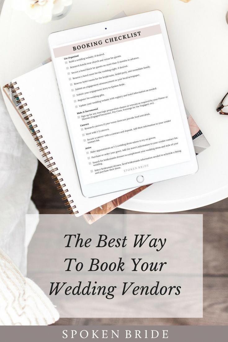 50++ Wedding vendor list printable info