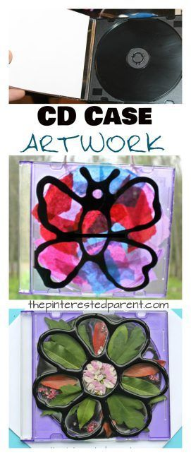 CD Case Artwork For Kids Pinterest Cd cases, Glue art and