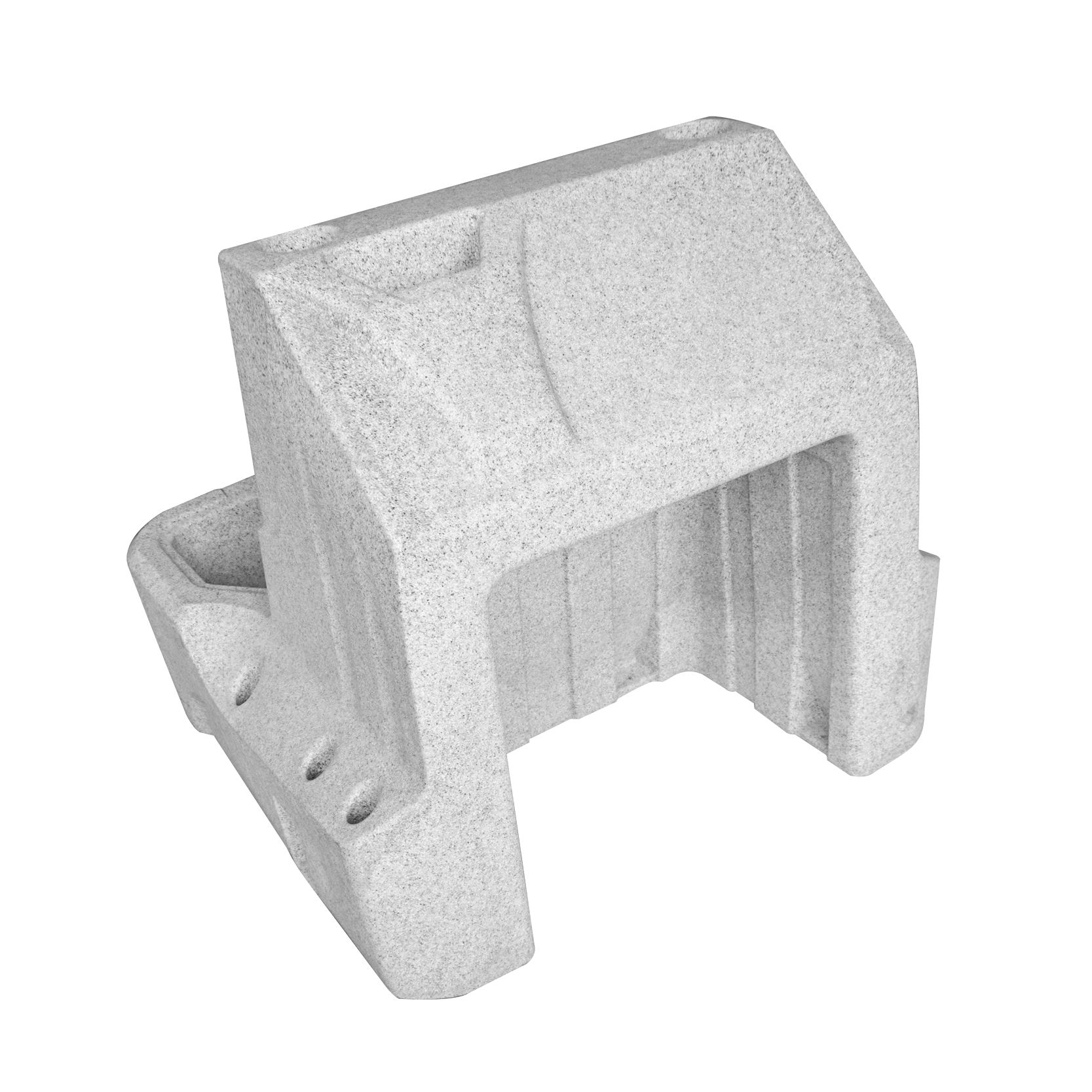 Rotational Molding Plastic Center Console For Pontoon Boat