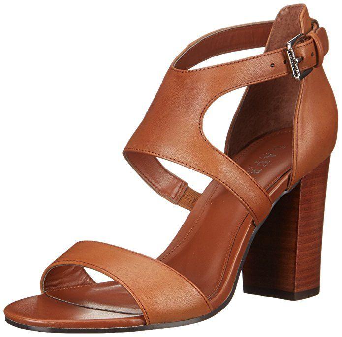 Lauren Ralph Lauren WomenS Latrice Wedge Sandal, Polo Tan