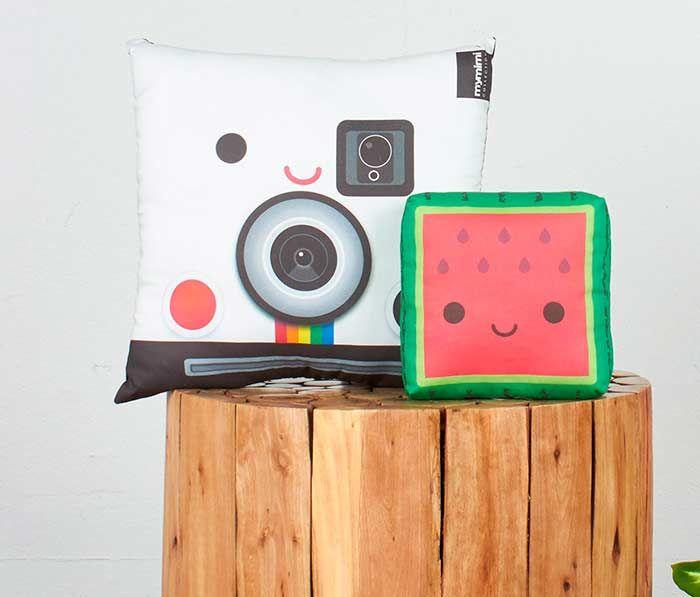 Cojín Polaroid (y amigos)