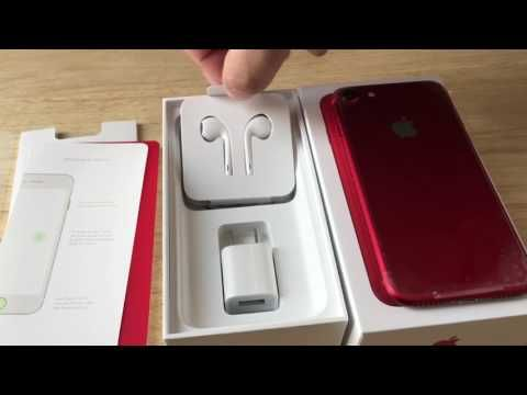 Apple iPhone 7 128GB PRODUCT(RED) iOS Smartphone AT&T 4G LTE