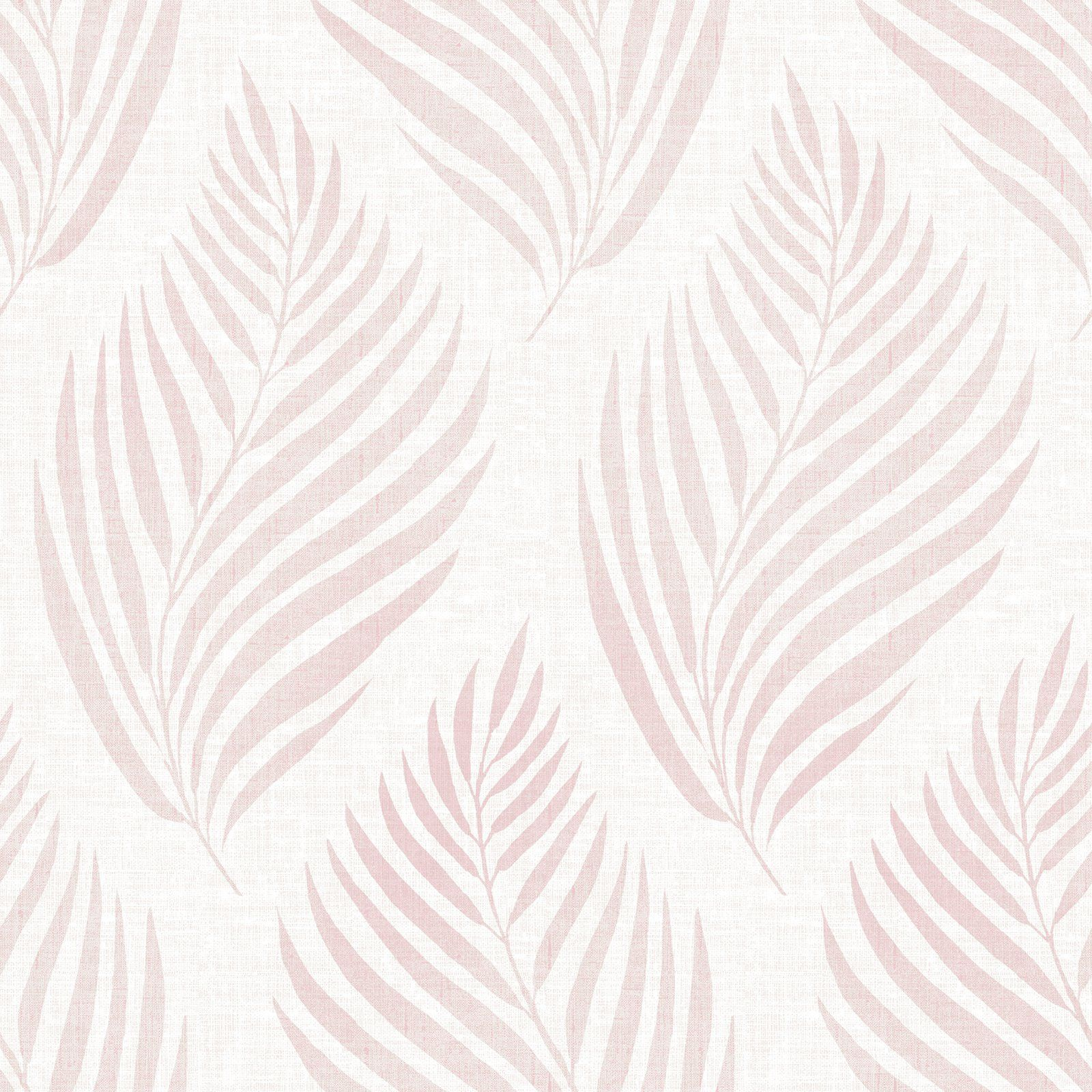 Brewster patrice pink linen leaf wallpaper products