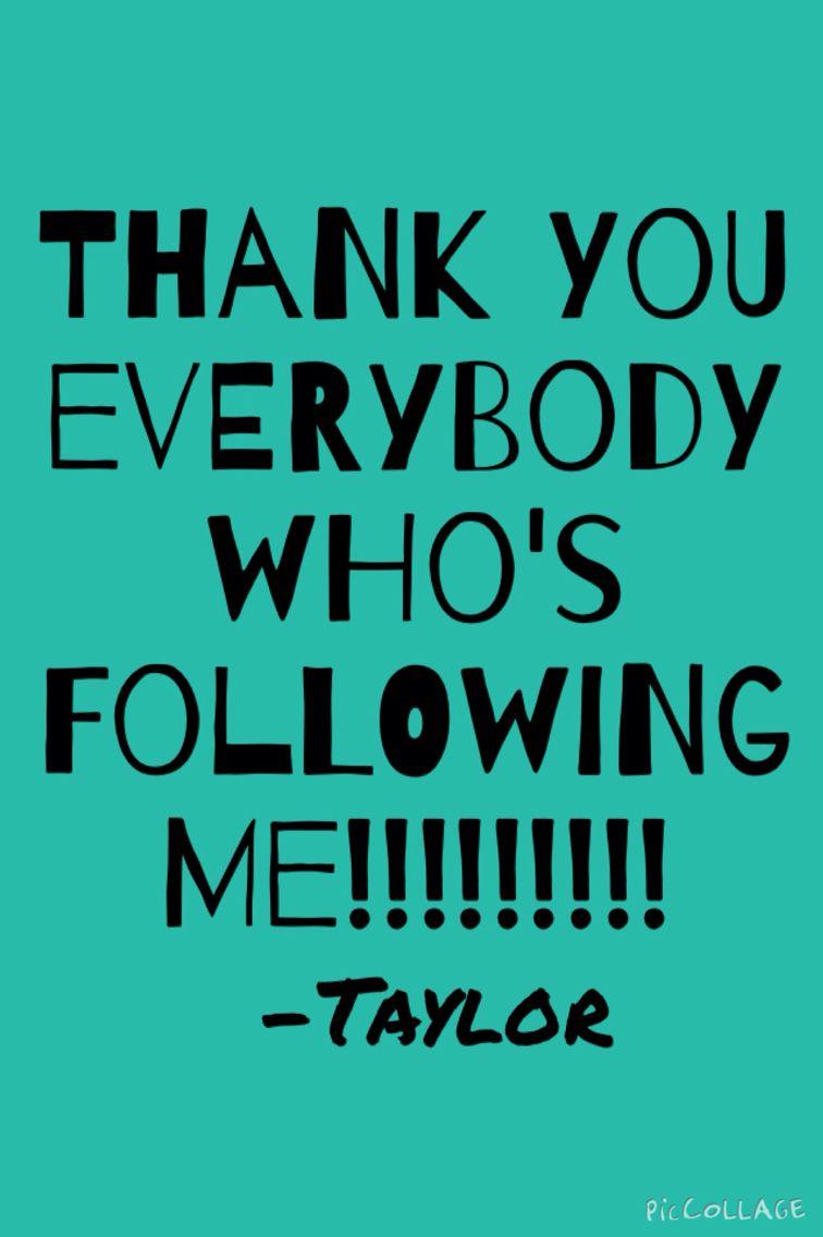 Love u guys for following me