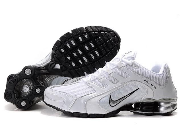Buy Men's Nike Shox Shoes White/Grey/Black Online 344399 from Reliable Men's  Nike Shox Shoes White/Grey/Black Online 344399 suppliers.