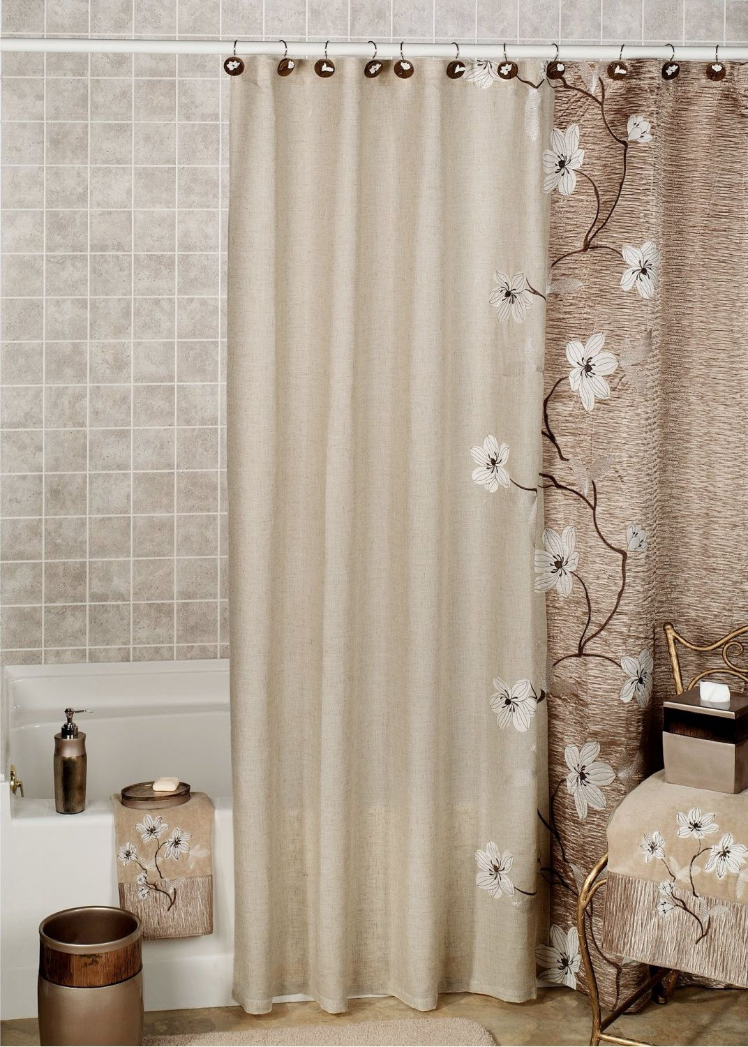 Bathroom shower curtains how to completely change your