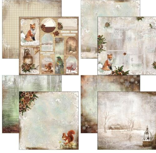 """Ciao Bella Sound Of Winter Double-Sided Cardstock 12/"""" Scrappapier 30,5 cm 190 gr"""