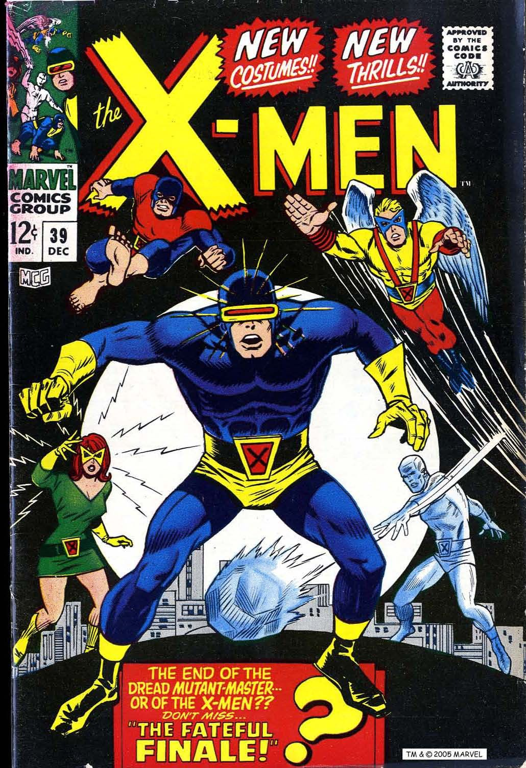 X Men Vol 1 39 Silver Age Comics Marvel Comics Covers Comics