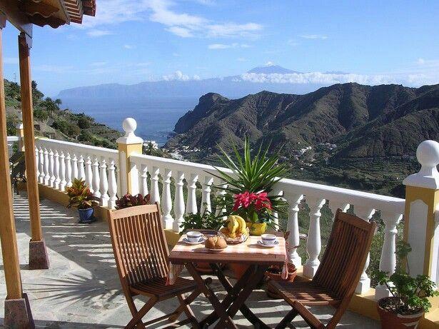 Isla de La Gomera, (Canary Island ).