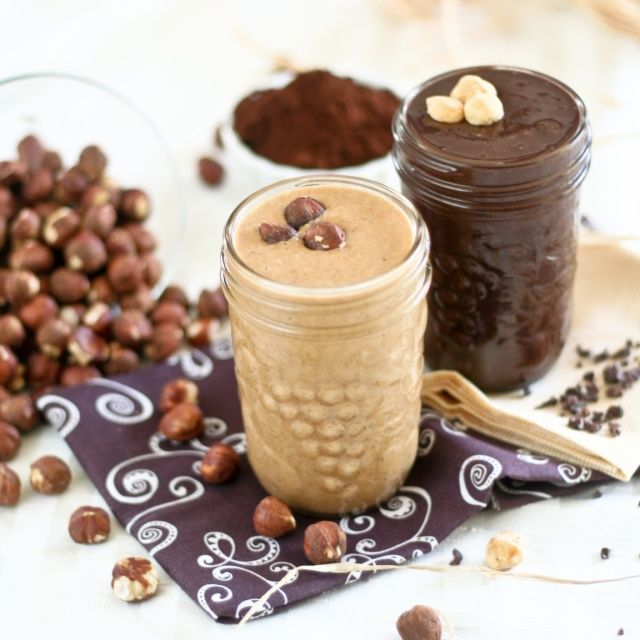 Hazelnut Butter meets Dark Cocoa Powder