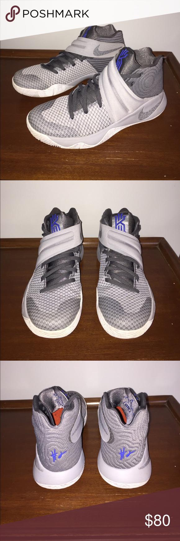 separation shoes ae196 45a01 ... canada kyrie 2 wolf grå in original nike box sko sneakers nike original  sko and e25a75