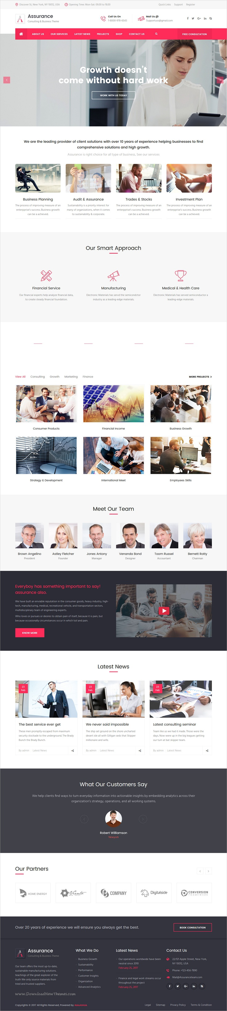 Assurance - Business Consulting and Professional Services WordPress ...