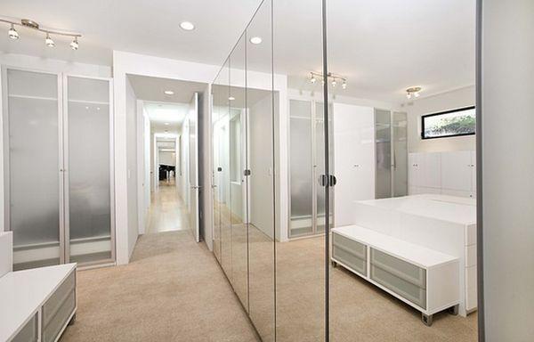 Mirror Closet Doors Sliding, Ikea Pax Vikedal Mirrored Wardrobe Doors