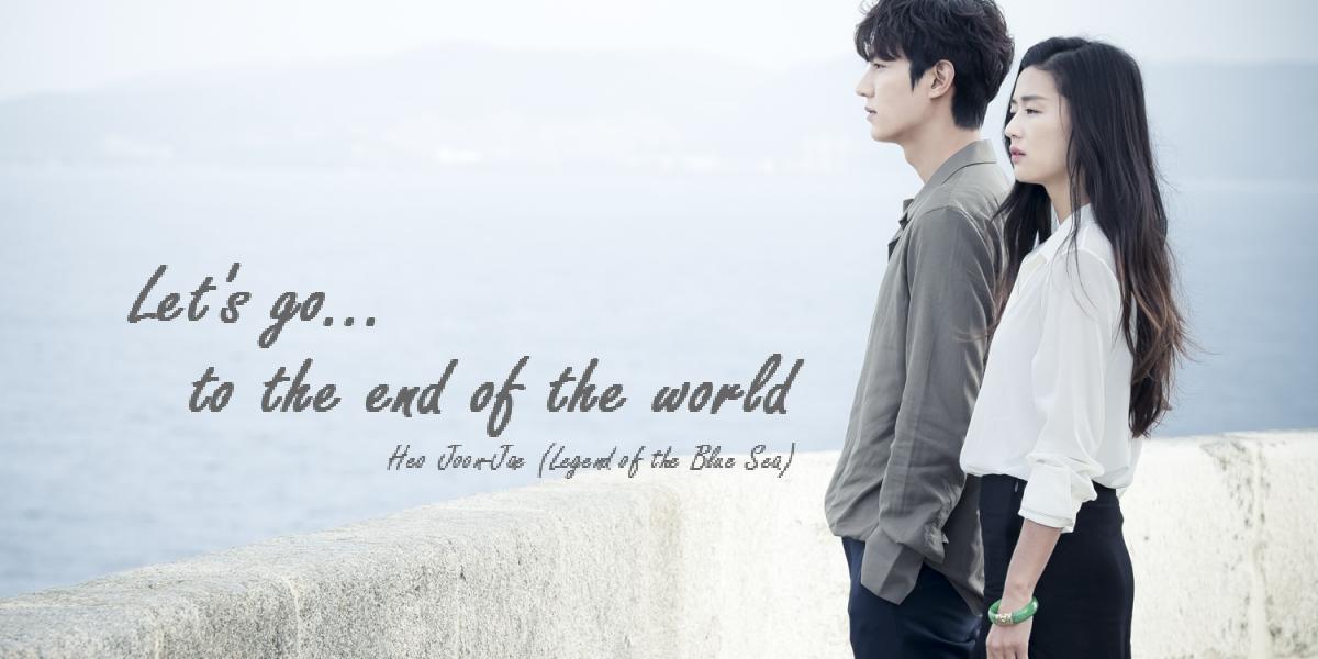 'Legend of th Blue Sea' KDrama Quote LeeMinHo