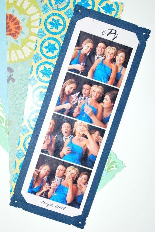 Photo Booth 2x6 Card Frames Custom Listing for Bagfanatic
