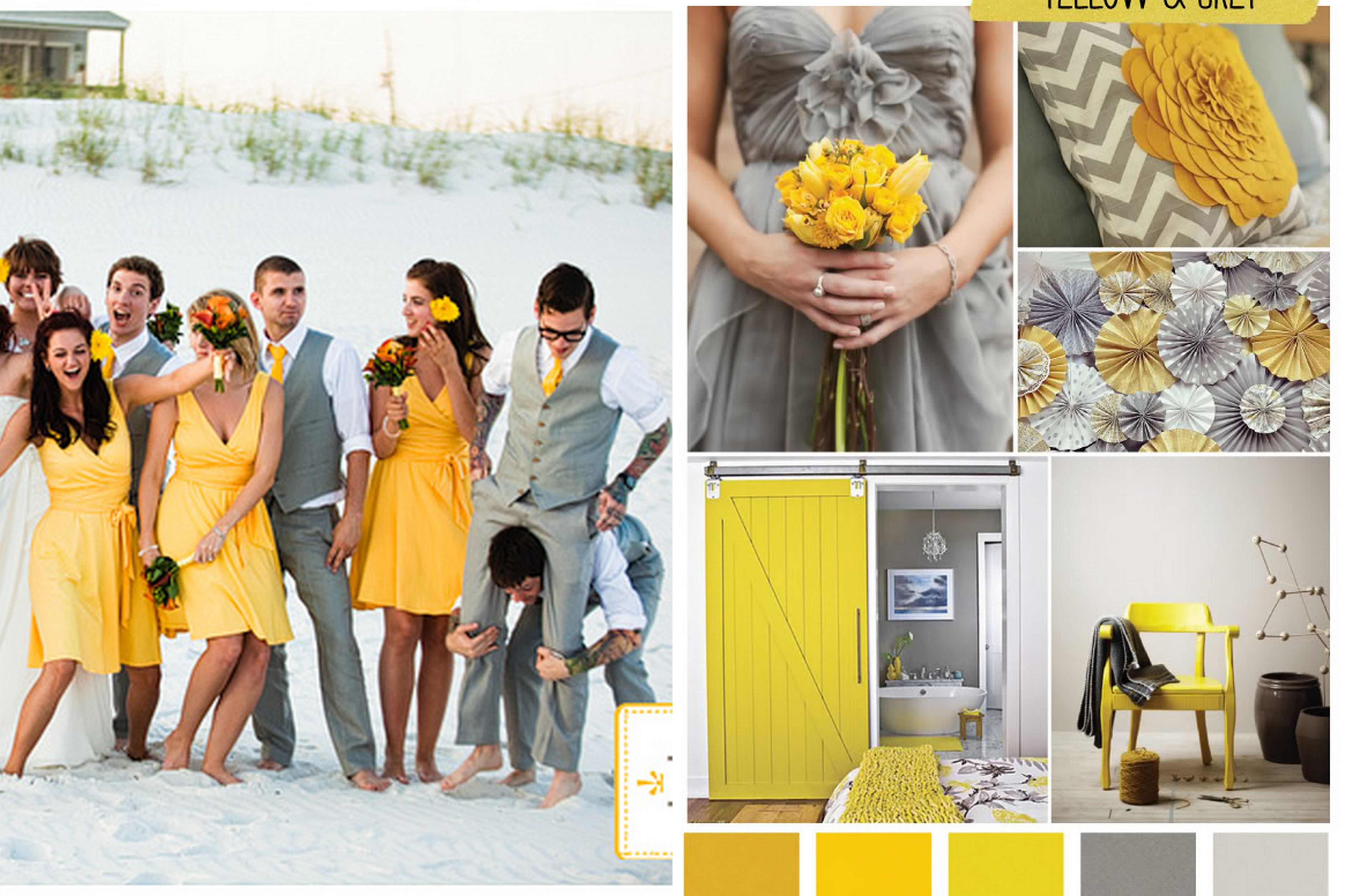 20 Photo Of 27 For Wedding Colors Yellow