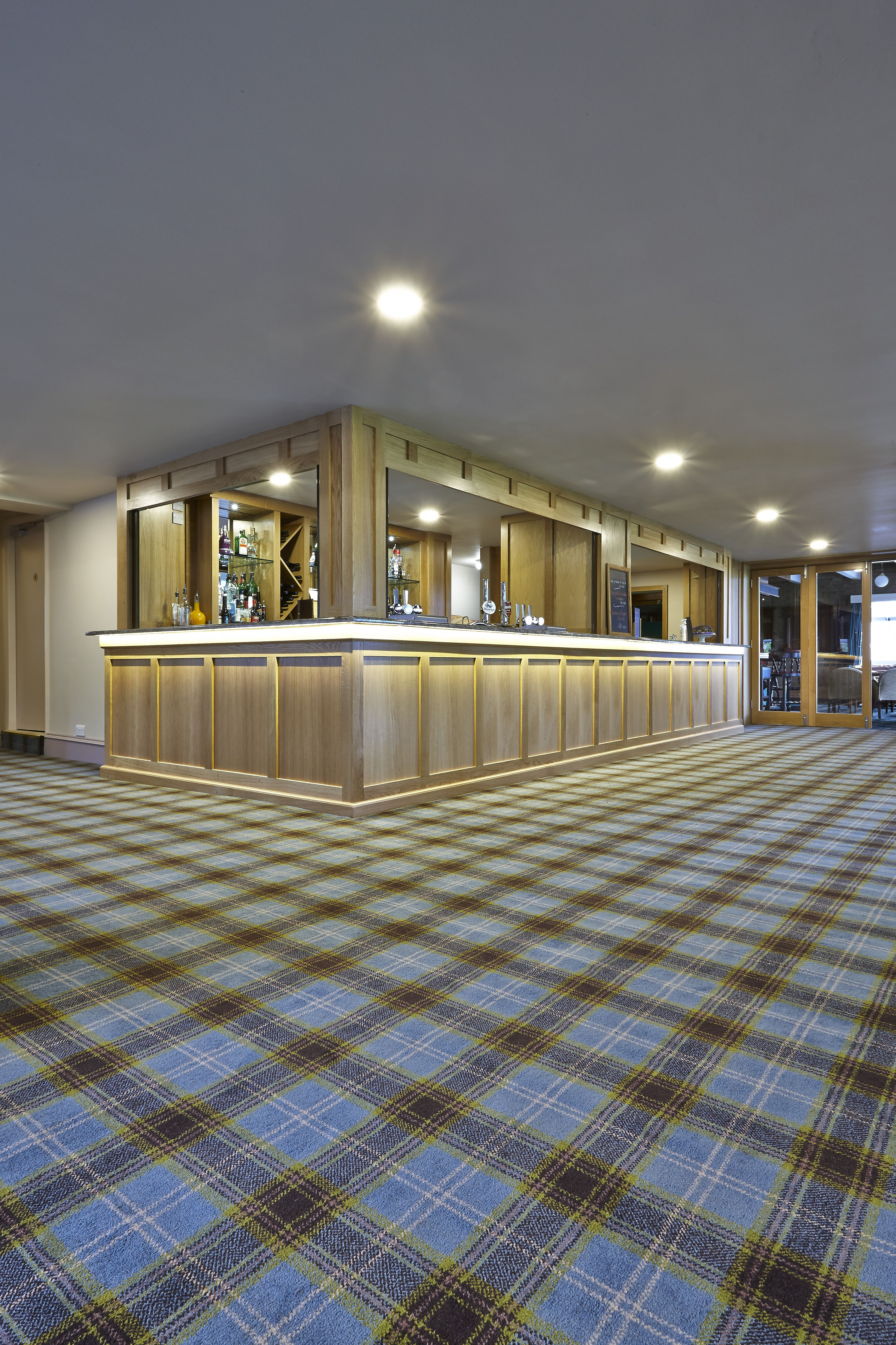 Blackburn 39 s wilpshire golf club is the proud recipient of for Wall to wall carpeting prices