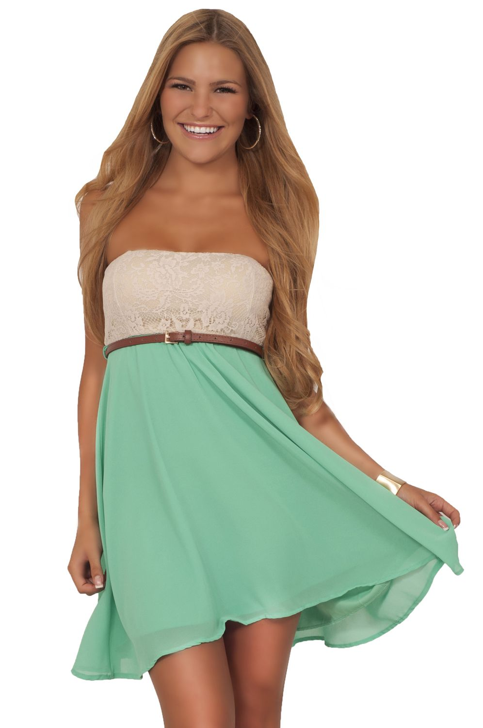 Cute Strapless Summer Dresses
