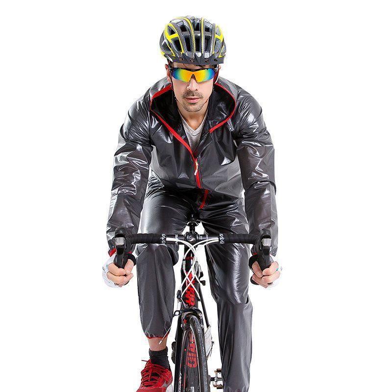Barato Acacia Ciclismo Capa De Chuva Terno Multif Função MTB Bicicleta  RainCoat Jacket + Calças Bicicleta Jersey Revestimento de Poeira À Prova D   Água ... 51713207cb