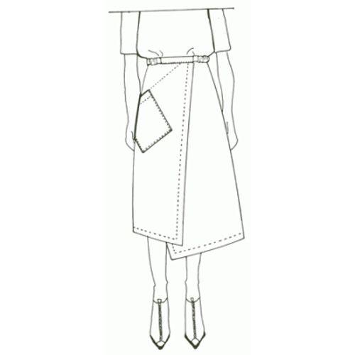 Six Sense Skirt; Shapes Louise Cutting Linda Lee | Patterns ...