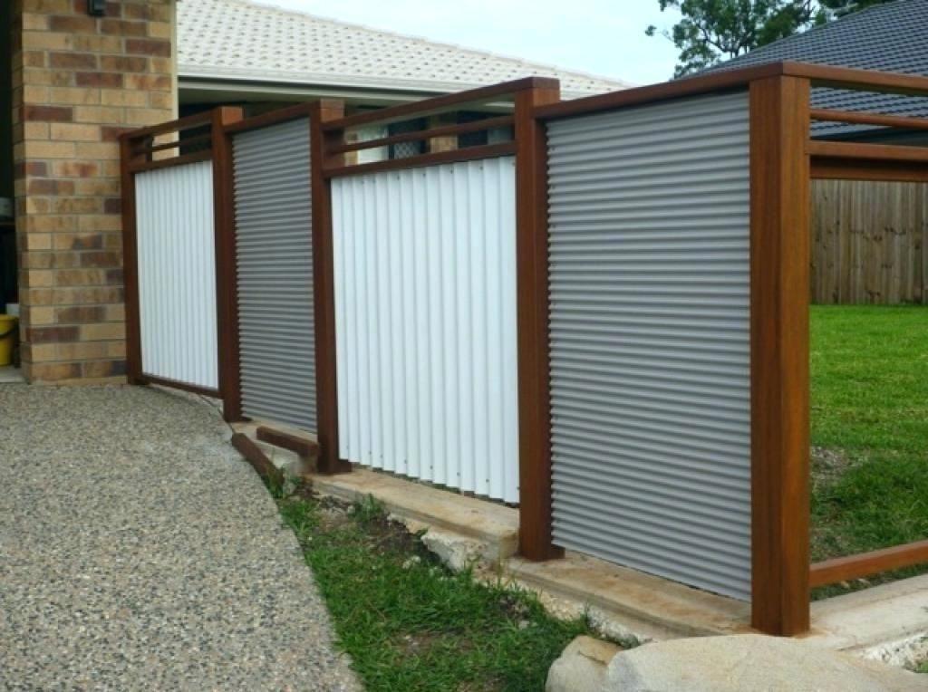 Sheet Metal Fence Corrugated Metal Fence Panels Corrugated Metal Panel Ideas Goo Corrugated Fence Go In 2020 Metal Fence Panels Corrugated Metal Fence Metal Fence