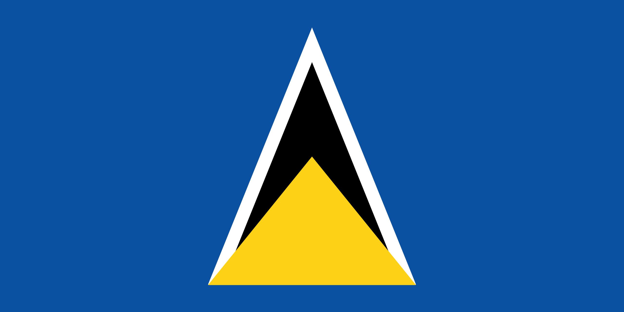Saint Lucia St Lucia St Lucia Flag Saint Lucian Flag