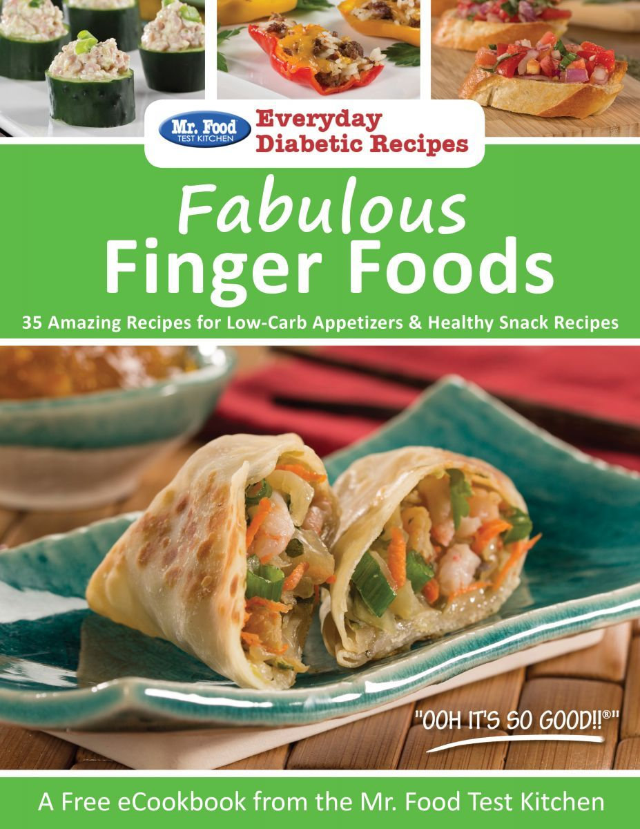 Fabulous finger foods 35 amazing recipes for low carb appetizers food test kitchen our collection of diabetic recipes includes everything from exciting dinner dishes to simple dessert recipes forumfinder Image collections
