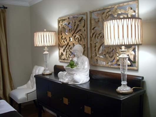 Crystal Buffet Lamps
