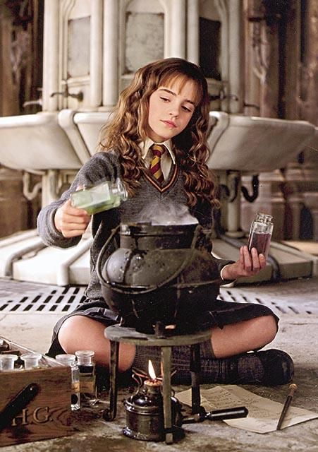 Brightest Witch Of Her Age... brewing polyjuice potion in her second year