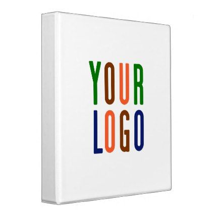 template - #Promotional Your Company or Event Logo 3 Ring Binder