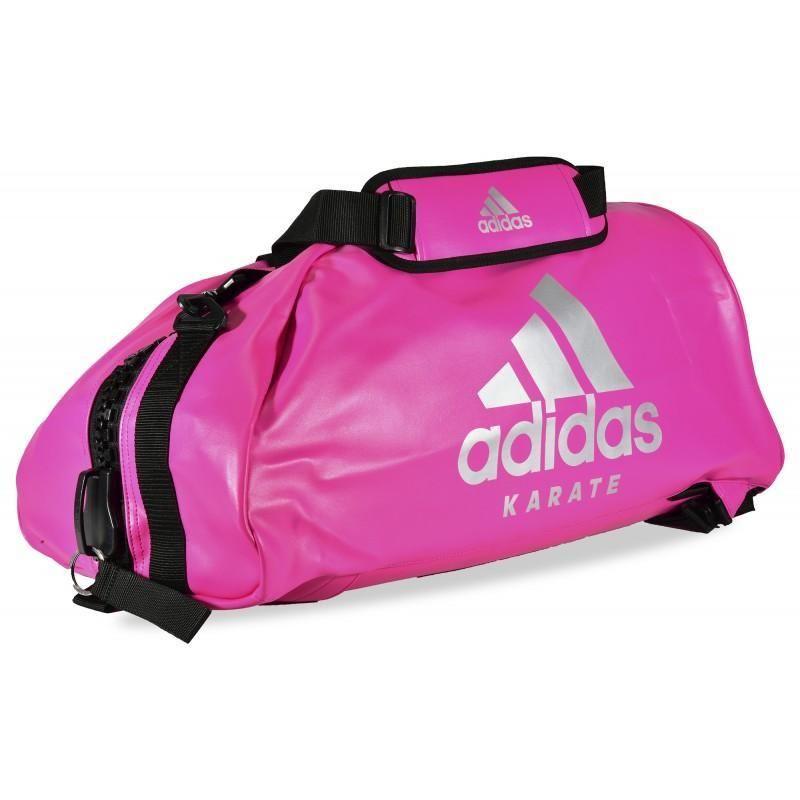 tornillo Acumulación Descubrir  Bolsa deporte KARATE ADIDAS Convertible en mochila Rosa | Karate, Bolsos  deportivos, Bolsa de boxeo