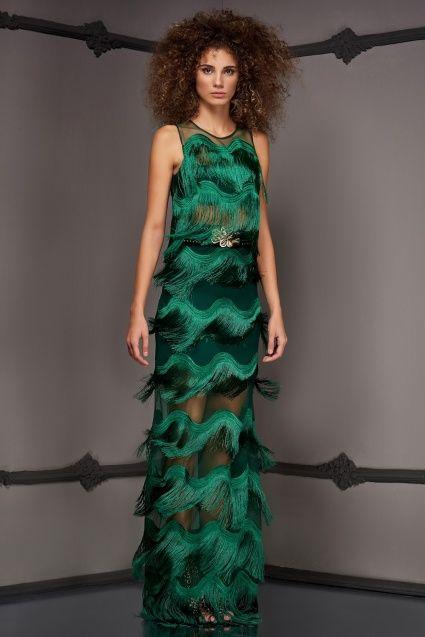 Raisa Vanessa For Trendyol Vanessa Yesil Etek Bluz The Dress Dress Up Moda Stilleri