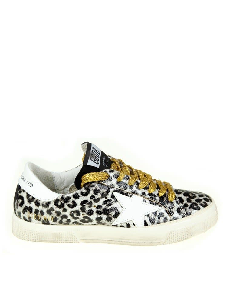 Golden Goose May Leather Sneaker Color